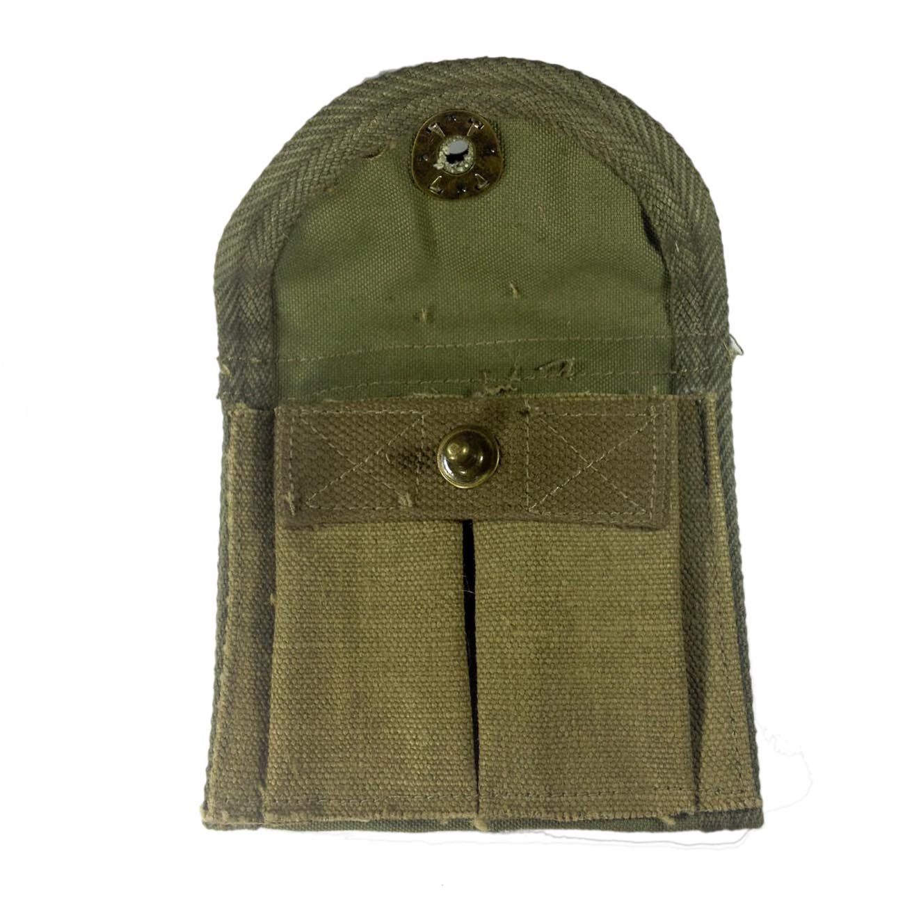 Collectables WW2 US Military M1 Carbine Rifle Mag Pouch repo Field Gear
