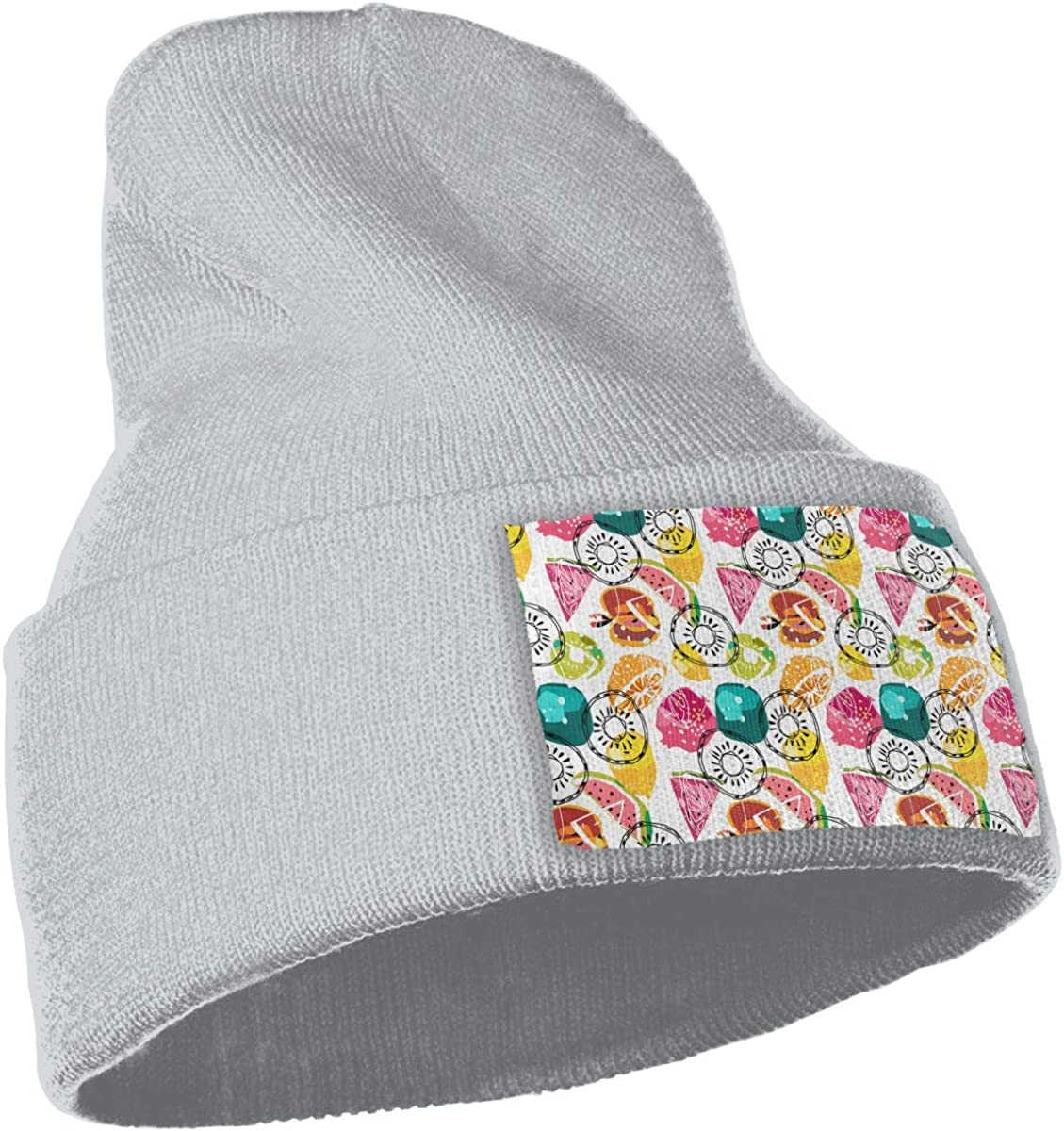 Cartoon Fruit Art Seamless Mode Unisex Fashion Knitted Hat Luxury Hip-Hop Cap