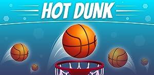 Hot Dunk: Addicting Tappy Tap Basketball Hoop Shots Game (no wifi) from Aleksandr Dolbilov