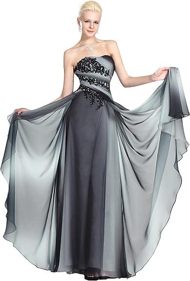 Abiti Eleganti Taglia 48.Edressit Elegante Abito Da Sera Cerimonia Senza Spalline 00125556