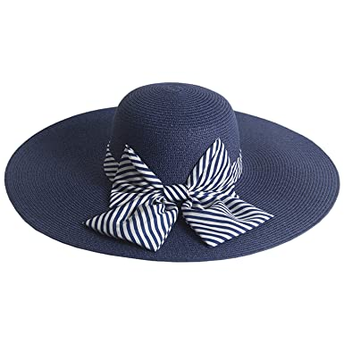559765eee63 Image Unavailable. Image not available for. Color  2019 Top Fashion Elegant Women  Hat Female Big Wide Brim Summer Hat Sun ...