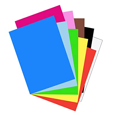 "Riverside 3D Construction Paper, 10 Assorted Colors, 18"" x 24"", 50 Sheets : Acid Free Construction Paper : Office Products"