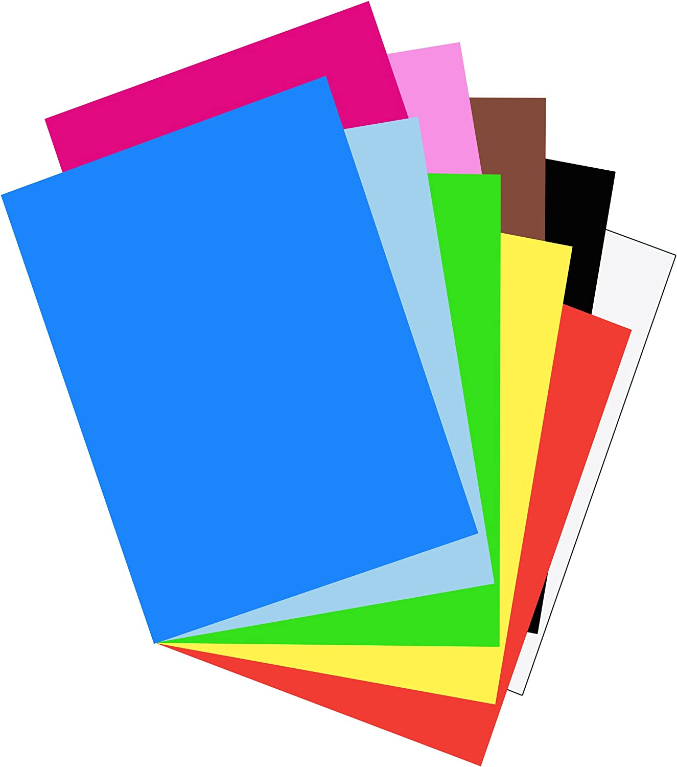 Riverside Paper Groundwood Construction Paper Blue 9in x 12in