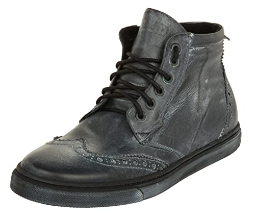 buy popular d49d0 148cd Ylati Men black leather VENERE HIGH black leather 1023 ...