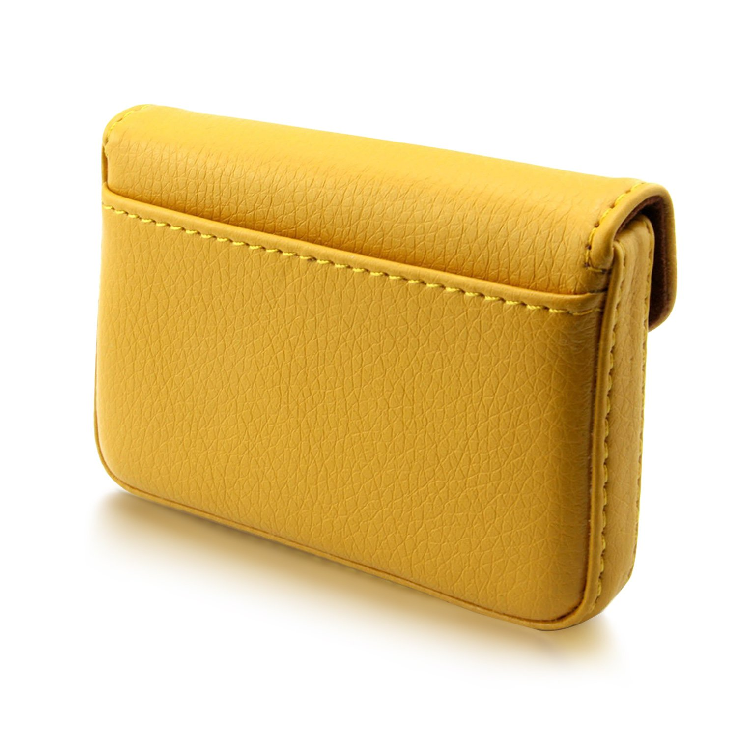 MaxGear PU Leather Business Card Holder Wallet Professional Business ...