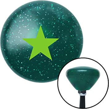 Green Bad Ass Boys Bad Ass Toys American Shifter 119626 Red Stripe Shift Knob with M16 x 1.5 Insert
