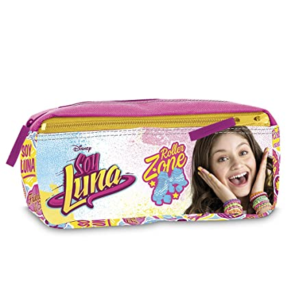 Amazon.com: Soy Luna - Two Zip Pencil Case (Giochi Preziosi ...