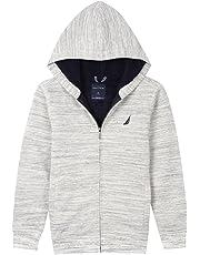 96208b9b0ca Nautica Boy's Expedition Sherpa Fleece Full Zip Hoodie