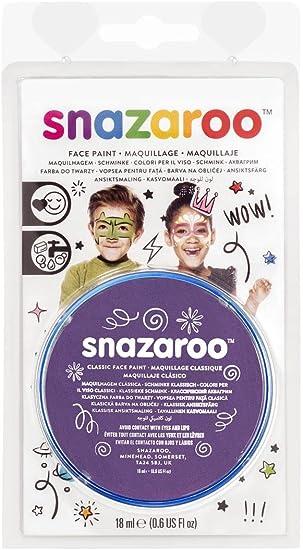Snazaroo Face Paint 18ml-Purple (Maquillaje/ Pintura de Cara): Amazon.es: Juguetes y juegos