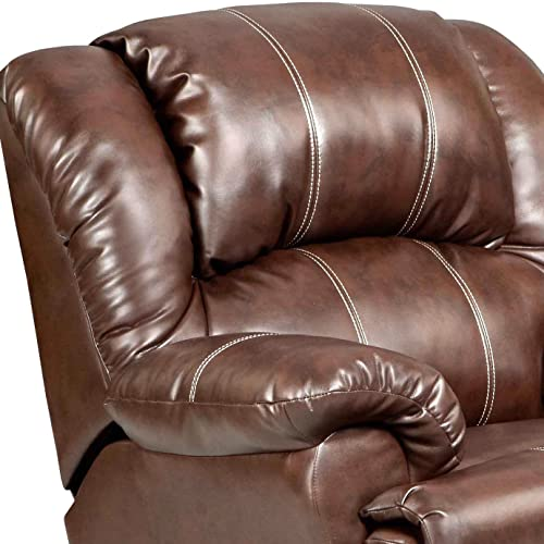 Roundhill wide recliner chair