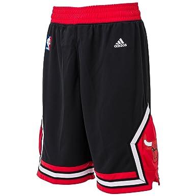 cad8b32029 adidas pantalón corto Chicago Bulls Swingman para hombre (negro ...