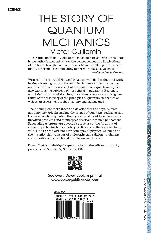 the story of quantum mechanics victor guillemin 0800759428748