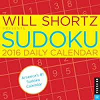 Will Shortz Presents Sudoku 2016 Daily Calendar