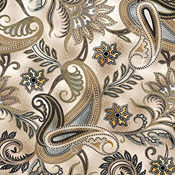 Fancy Elegance Metallic Tissue Paper # 591-10 Large Sheets