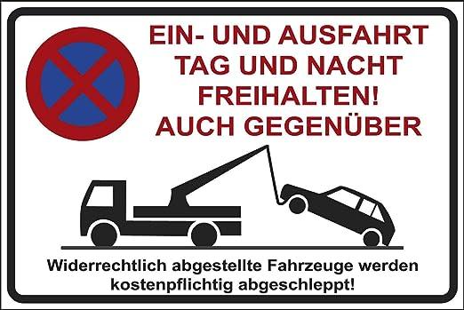 Cartel de Aparcamiento Prohibido aparcar, 200 x 300 mm ...