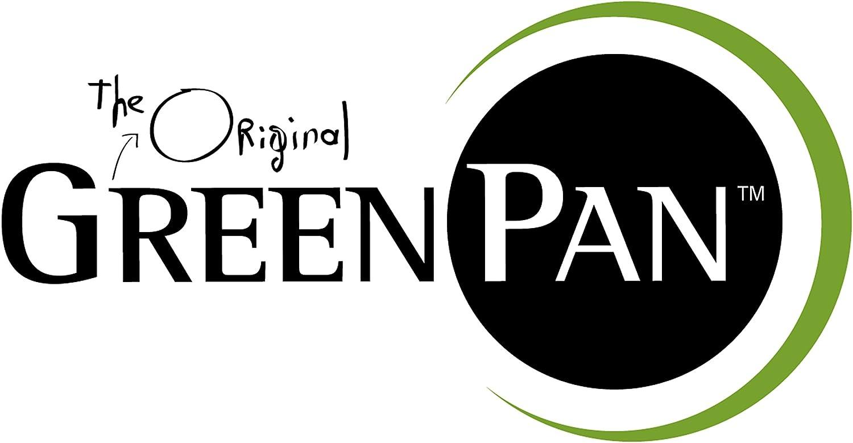 GreenPan 10 Piece Minneapolis ceramic Non-Stick Cookware Set, Silver