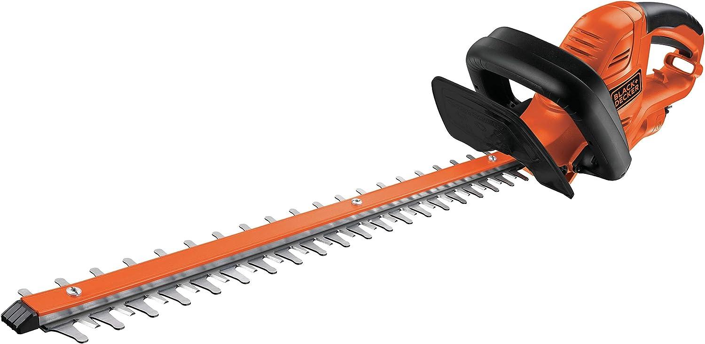 Black+Decker GT5055KIT2 - Cortasetos eléctrico (500 W, incluye tijeras de podar) [Importado de Alemania]