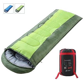 Saco de dormir SEMOO 200 x 70 cm, saco de dormir para 3 estaciones (