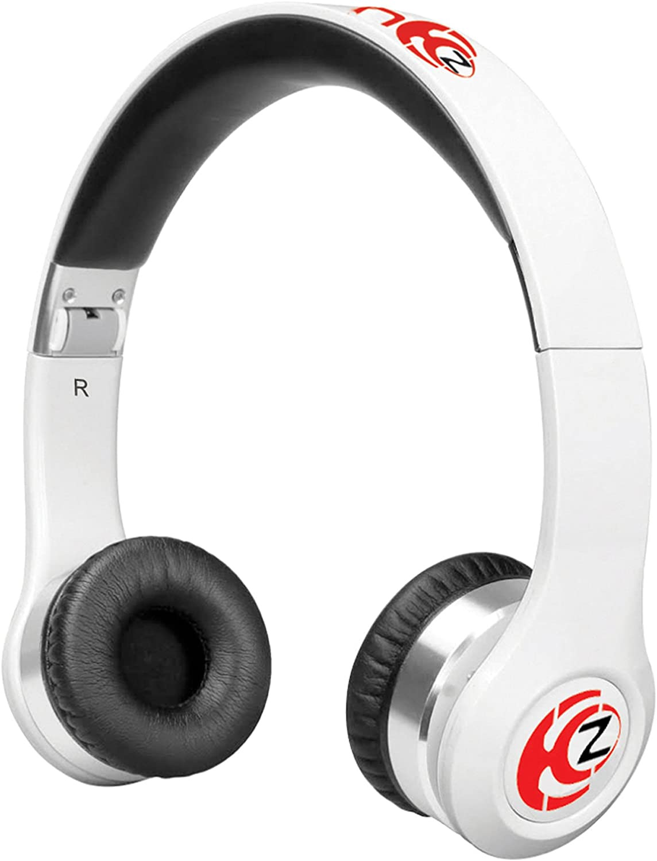Krankz Wireless Bluetooth On-Ear Headphones (White)