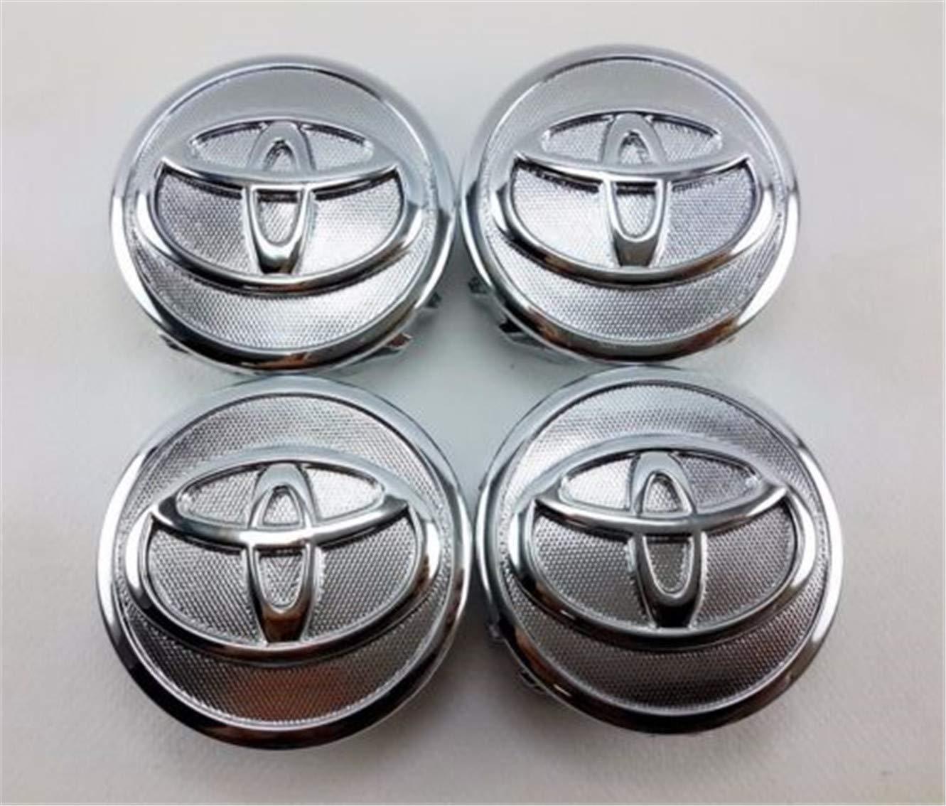 Jqlcgtmqwu 4 cappucci copriruota per centro ruota per Toyota 07-13 Prius 09-13 Corolla 07-14 Yaris