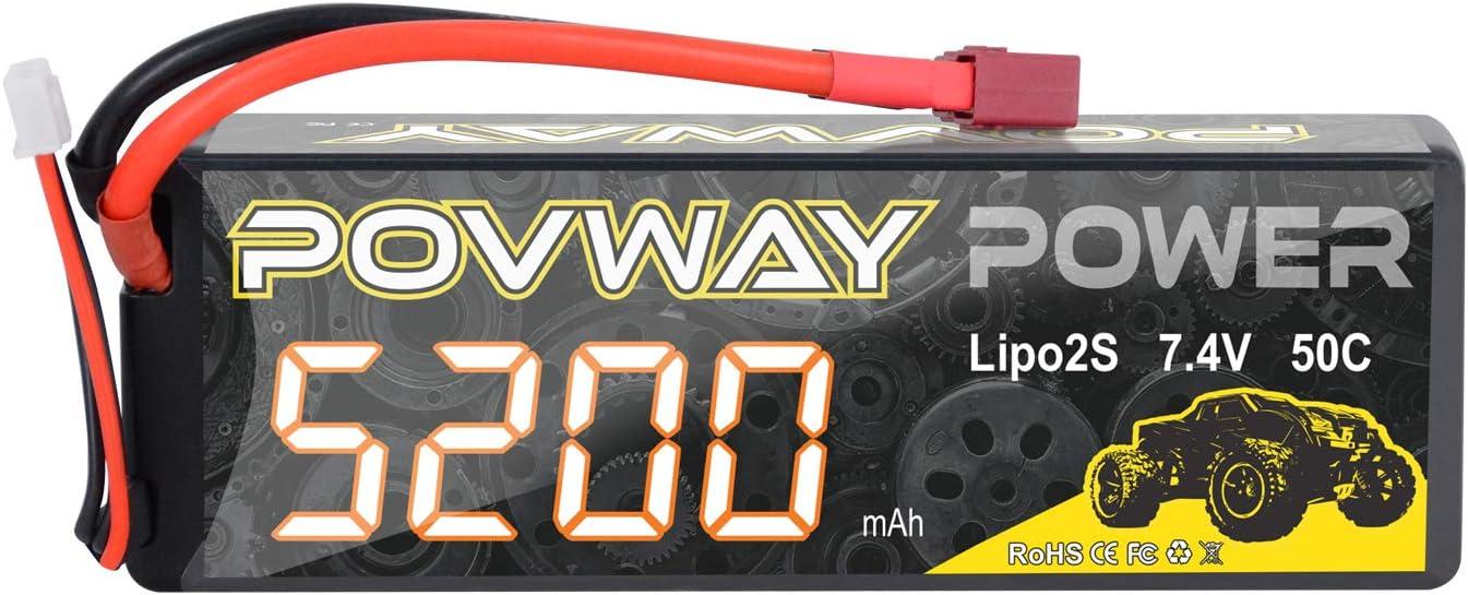 Bateria Lipo 2s 5200mah Povway 7.4v 50c