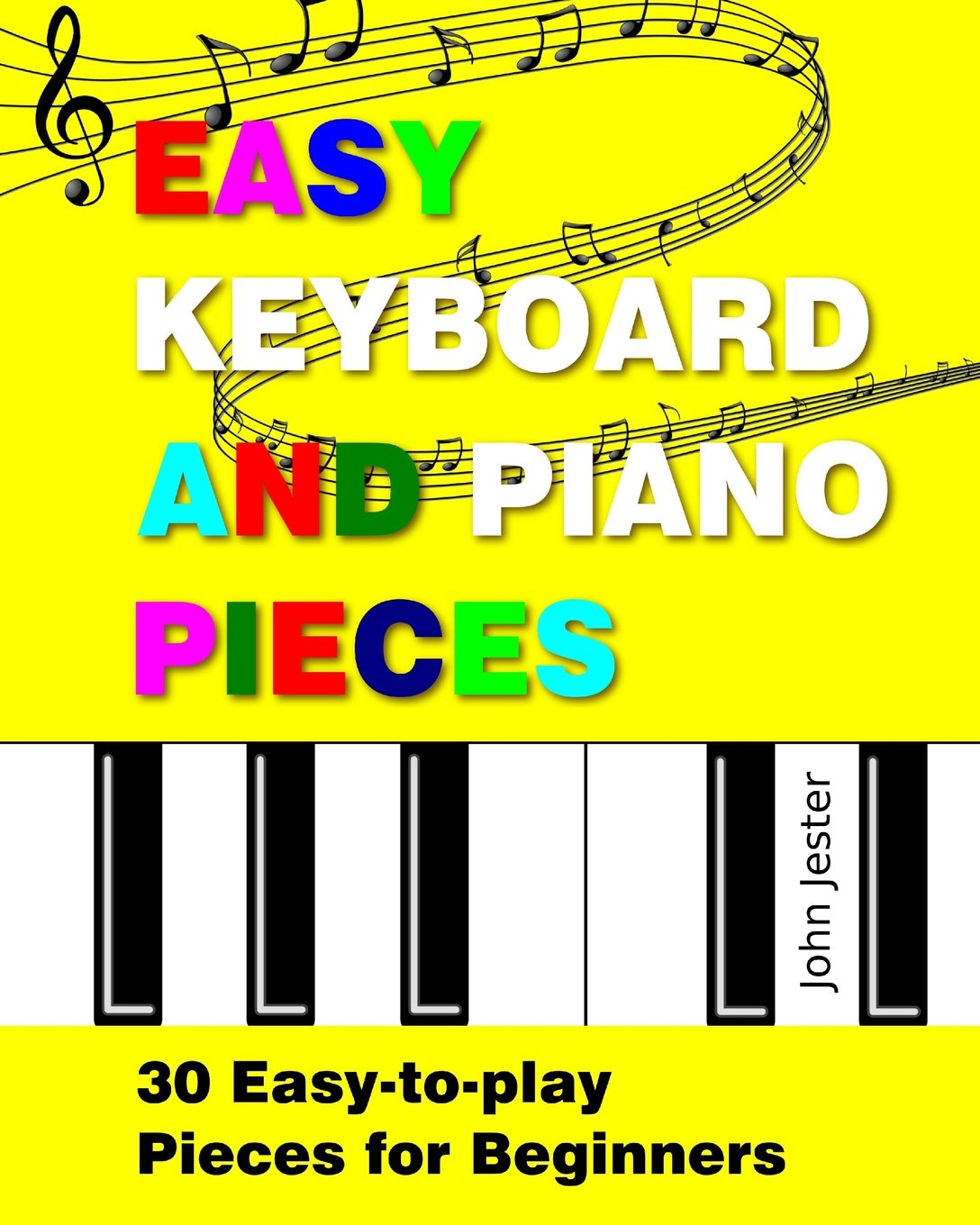 10 Easy Lessons Learn To Play Keyboard Young Beginners CD Booklet /& Poster