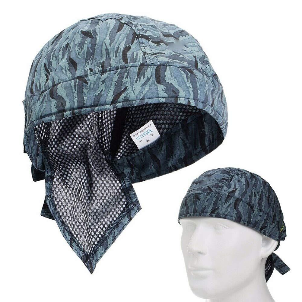 LNIMIKIY Berretto per Saldatura Cappello Isolamento Termico Sciarpa Sicuro u ignifugo Comodo Casco Moda Traspirante Lavabile Protezione Elastica della Testa
