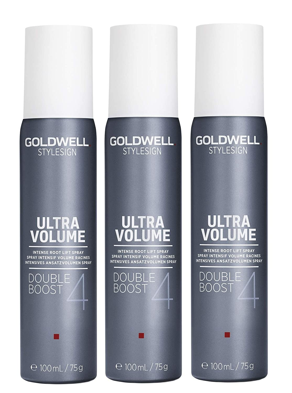3er Intensives Ansatzvolumen Spray Goldwell Stylesign 4 Ultra Volume Double Boost 100 ml Kao Germany