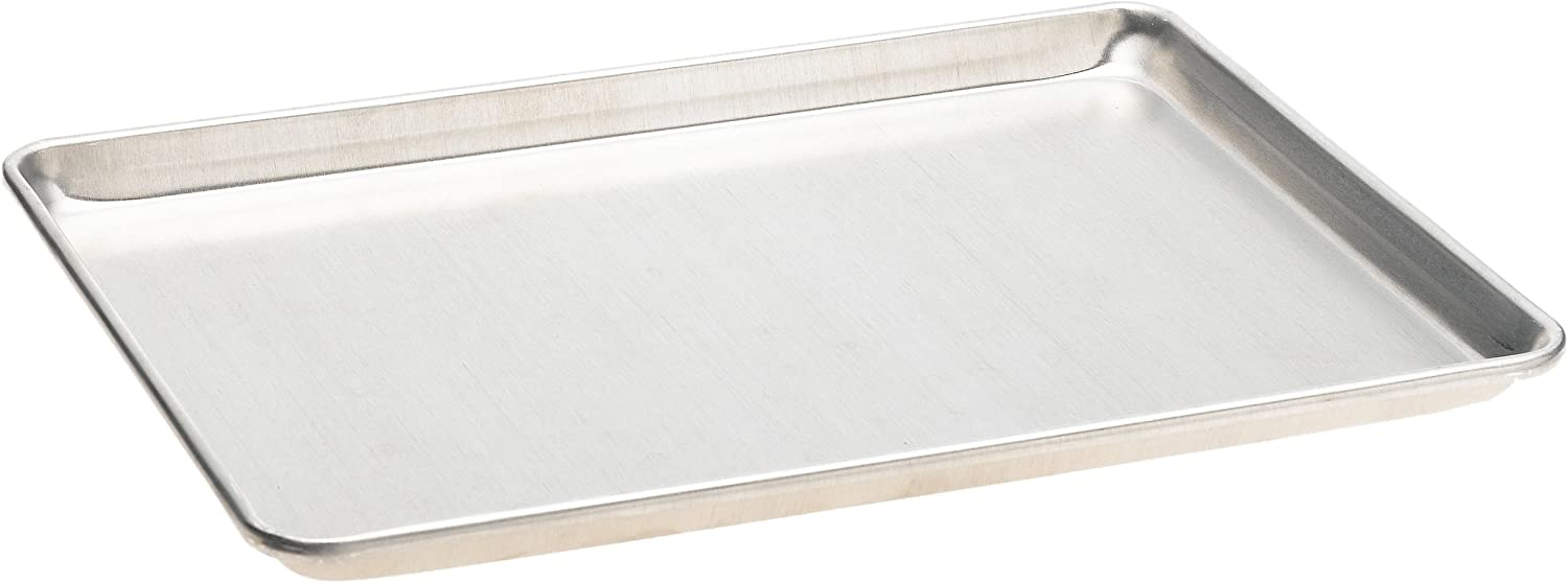 Mrs. Anderson's Baking Half Sheet Pan, 13-Inches x 18-Inches, Heavyweight Commercial Grade 19-Gauge Aluminum