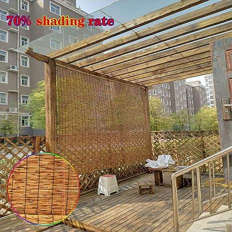 L-KCBTY Persiana Bambu Exterior| Cortinas Y Estores|Cortina De Madera|Toldo/Natural/Transpirable|Valla De Privacidad/Jardin/Planta De Flor: Amazon.es: Hogar