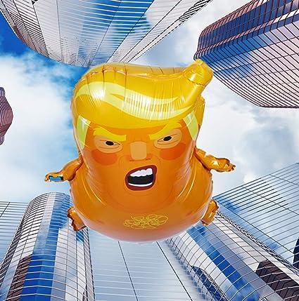 "Baby Trump Funny Aluminum foil Balloon Toy Impeach Party Balloon Decor 22/"" x 17/"""