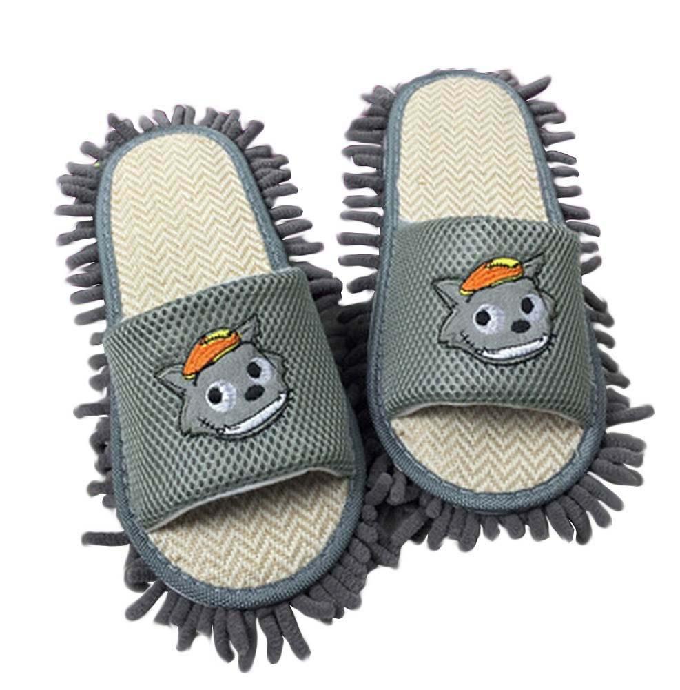 Kreative Mopphefterzufuhren Bodenreinigung Hausschuhe Mopping Schuhe Grau Blancho Bedding