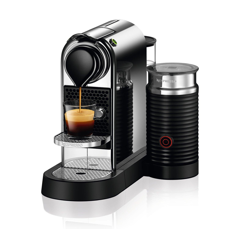 Nespresso C122-US-CH-NE Citiz Milk Espresso Machine, Chrome