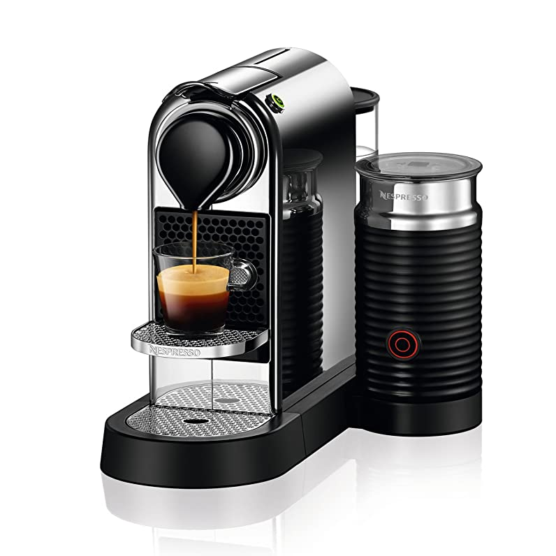 Nespresso CitiZ&Milk Capsule Coffee Machine for Espresso or Lungo ...