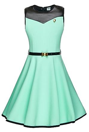 designer fashion ebb25 ab6cf cocomini Kleid für Mädchen festlich schön elegant bequem rundschnitt  EXPRESSVERSAND mit DPD