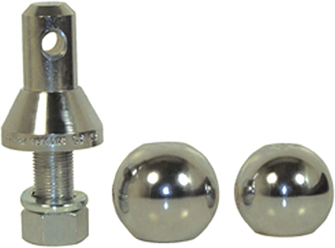 2 Convert-A-Ball 400B Nickel-Plated Replacement Ball