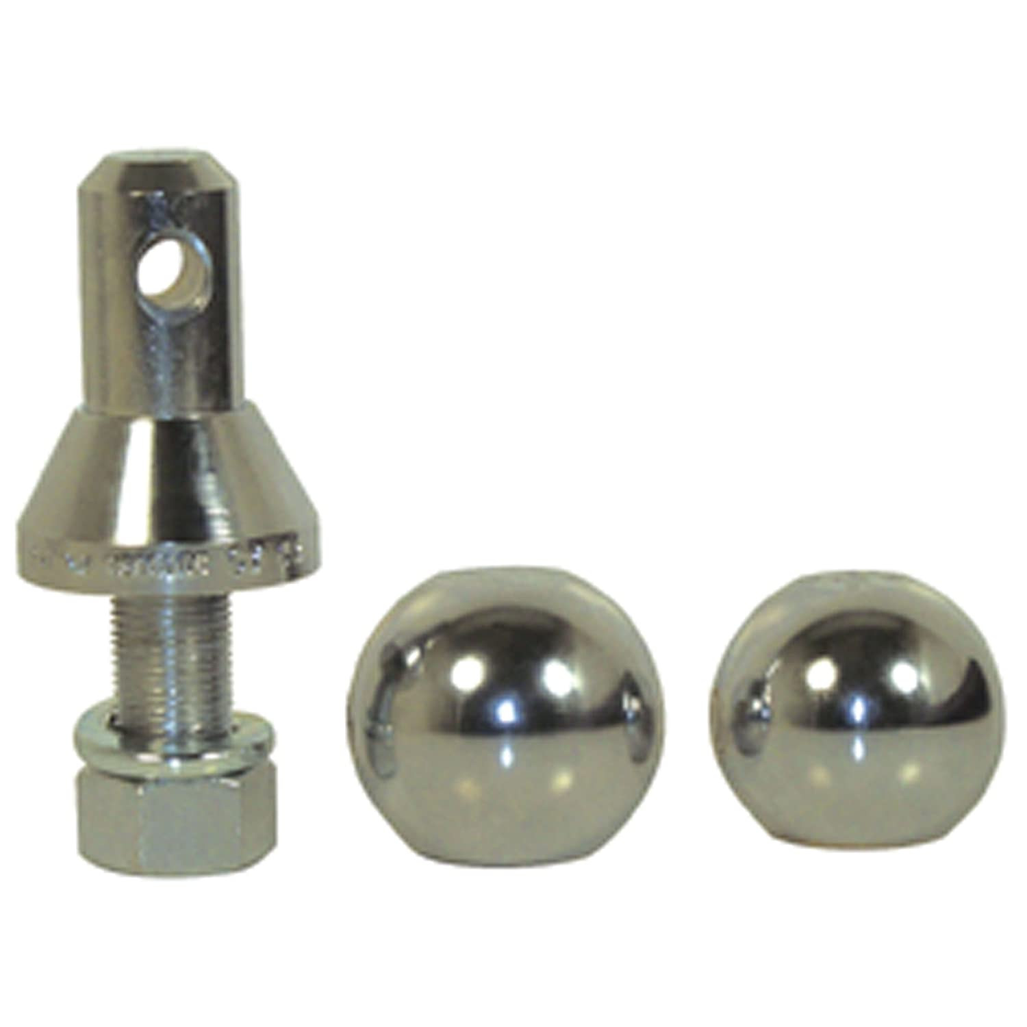 Convert-A-Ball 901B Nickel-Plated Shank with 2 Balls 1