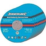 Silverline 224514 Disques abrasifs Métal 115 x 6 x 22,2 mm