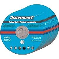 Silverline 224514 - Discos de desbaste de centro