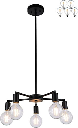 XiNBEi Lighting 5 Light Chandelier