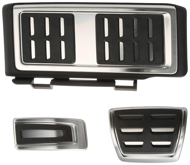 Audi 8V1064205A Pedalkappen-Set fü r A3 (AB3)/TT3 Linkslenker Automatikgetriebe mit Fuß stü tze Audi AG
