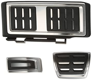 Audi 8 V106 E-4205 A Pedal Juego de tapacubos para A3 (AB3)/TT3 Izquierda Transmisión automática con reposapiés: Amazon.es: Coche y moto