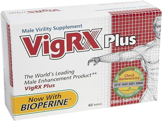 Amazon.com: VigRX Plus Male Virility Herbal Dietary Supplement ...
