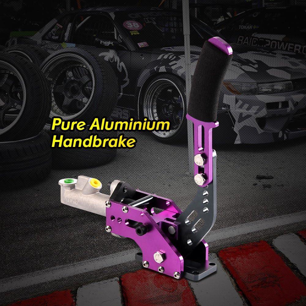 OKLEAD Parking Brake Lever Hydraulic Handbrake Universal Ebrake For Drift Rally Racing Sponge Handle Purple