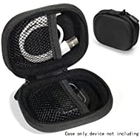 CaseSack Golf Course GPS Case Compatible with GolfBudy Voice, Voice 2, Bushnell NeoGhost, Garmin 010-01959-00 Approach G10, Mesh Pouches in Both lid and Base for GPS and Cable separatedly