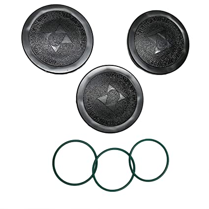 Rain Bird 1800XC 3-PACK | Cap for 1800-Series Spray Head Sprinkler | Caps  AND Gaskets Included