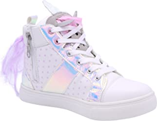 8bf57d705 Olivia Miller Girl s Unicorn High Top Sneaker (Little Kid Big Kid) White