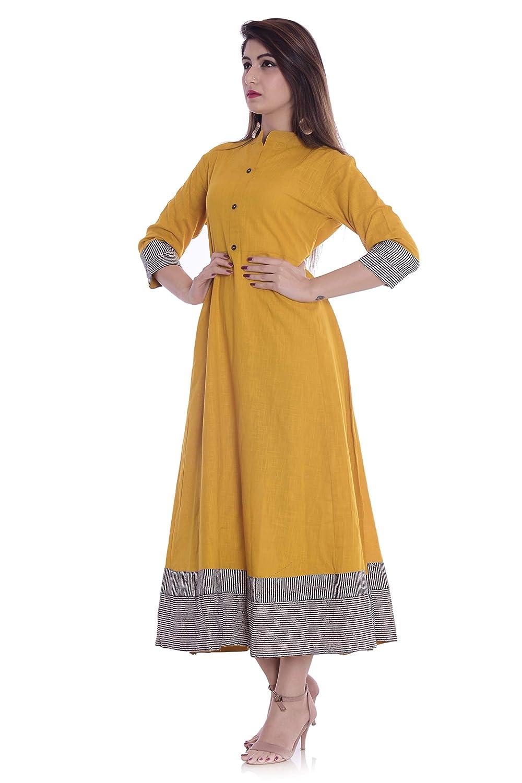 Women's Cotton Anarkali Kurta