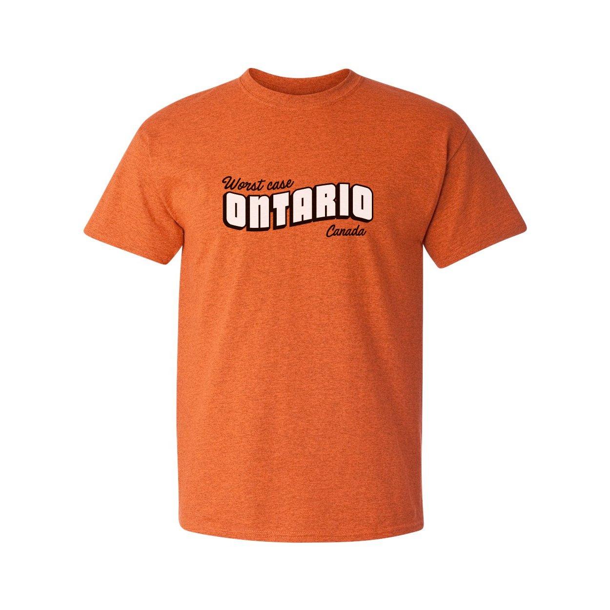Day Owl Worst Case Ontario Adult Short Sleeve T-Shirt (2X-Large)