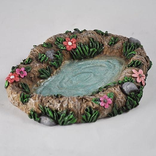 Fairy Garden Bassin Décoration miniature Décoration de ...